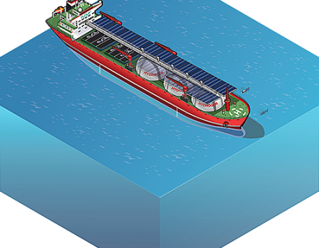 Offshore Mobile Hydrogen