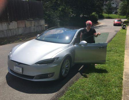 August 10, 2017: Tesla Ride